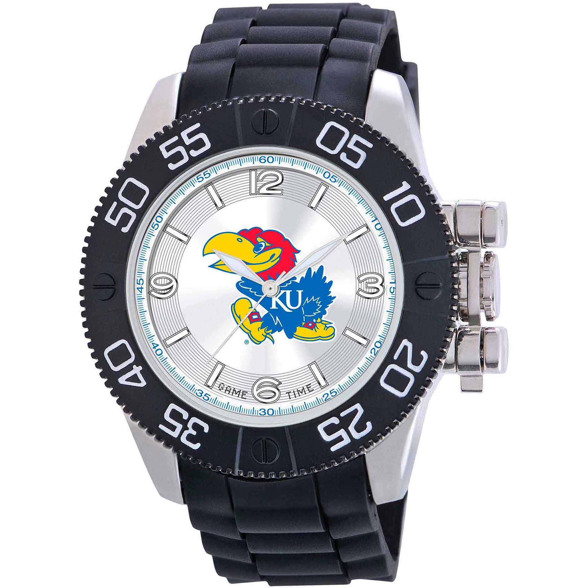 Game Time NCAA Men's University of Kansas Jayhawks Beast Series Watch