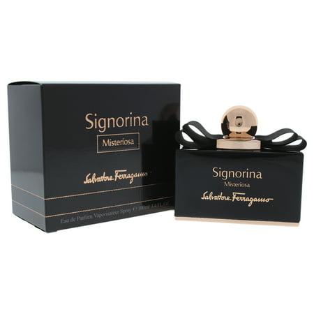 Signorina Misteriosa by Salvatore Ferragamo for Women - 3.4 oz EDP (Best Salvatore Ferragamo Perfume)