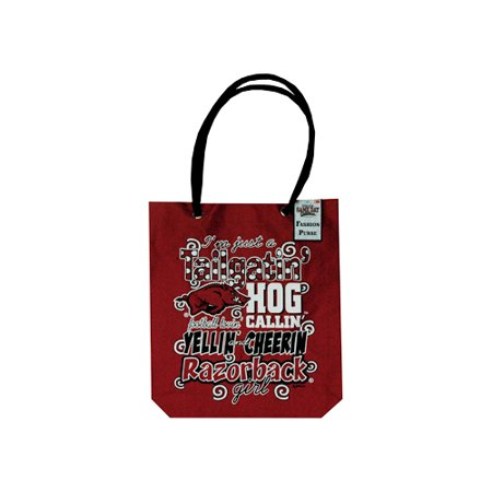 GAMEDAY OUTFITTERS UNIVERSITY OF ARKANSAS Razorbacks LADIES TOTE GIRLY GIRLY 27108 - image 1 de 1