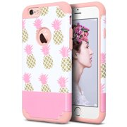 iPhone 6 Case, iPhone 6S Case (4.7 inch), ULAK Slim Dual Layer Protective Case Fit for Apple iPhone 6 (2014) / 6S  4.7 inch (2015) Hybrid Hard Back Cover and Soft Silicone