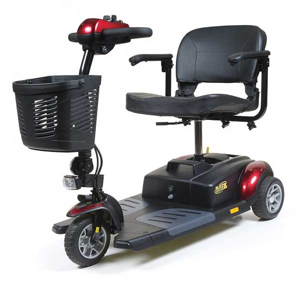 Golden Technologies Buzz XL 3 Wheel Scooter-Red