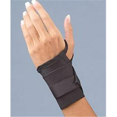 Fla 71 2101Lblk Safe T Wrist Sd Wrist Support  44  Black  44  Extra Large