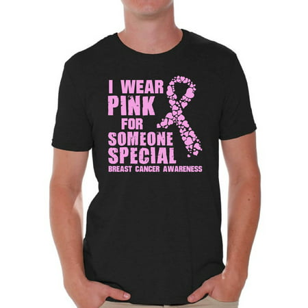 Cancer Awereness Shirts for Men Breast Cancer Awareness Shirts Pink Ribbon T - Breast Cancer Cake