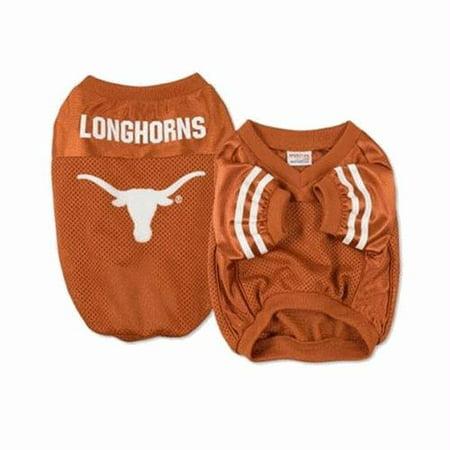 Texas Longhorns Dog Jersey - alternate style - Small