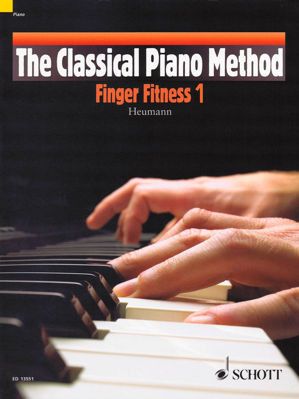 Schott The Classical Piano Method Finger Fitness 1 by