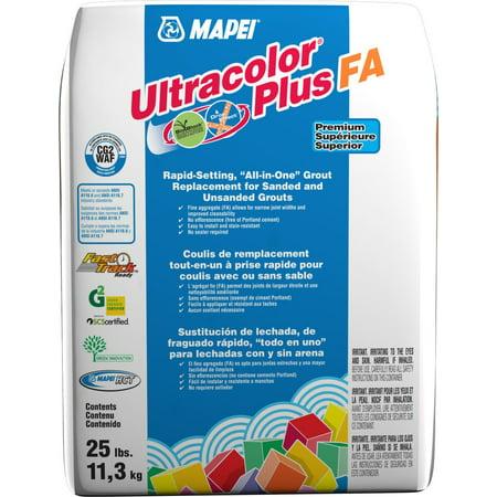 Mapei Ultracolor Plus FA Rapid-Setting Grout 25 lb Bag 10 Lb Non Sanded Grout