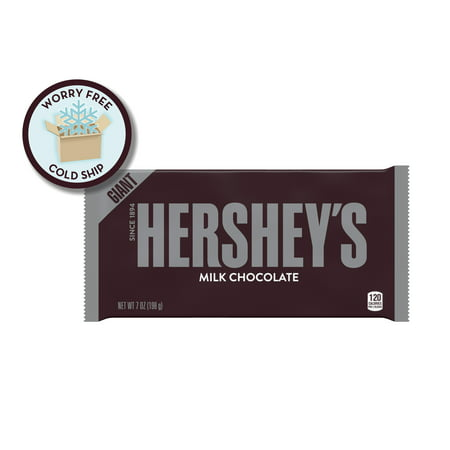 HERSHEY'S Milk Chocolate Bar, Giant, 7 Ounces (Pack of 3)](Hershey Bar Wrappers)
