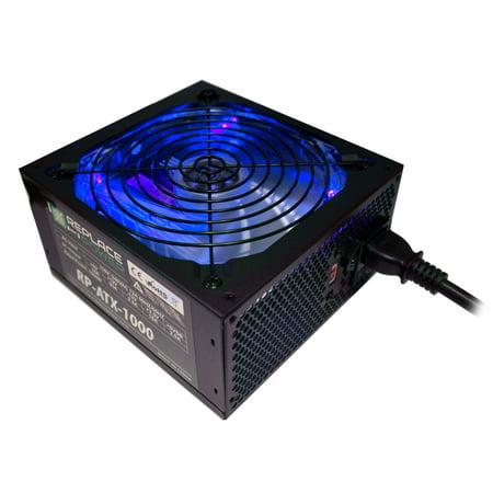 Replace Power RP-ATX-1000W-BL 1000W ATX Power Supply Blue