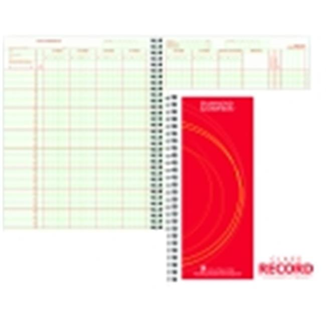 Hammond And Stephens Wire-O Bound Class Record Book, Green & Red by Hammond & Stephens