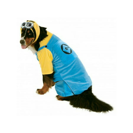 Evil Minion Dog Costume (Halloween Big Dogs' Minion Pet)
