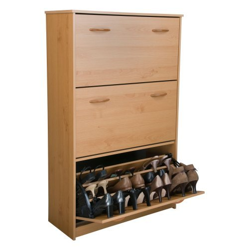 Venture Horizon Triple Level Shoe Storage Cabinet