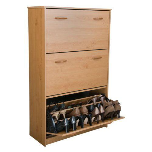 Spartak Triple Level Shoe Storage Cabinet