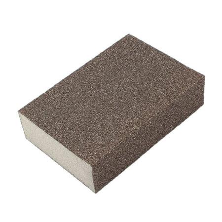 Unique Bargains 100mm x 70mm x 25mm Rough Sanding Sponge Pad Block Sander Tool (Sander Sanding Block)