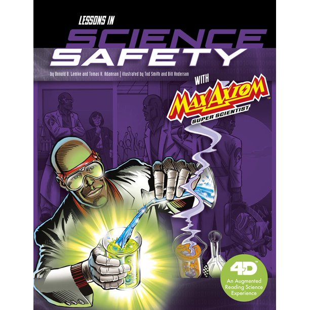 Lessons In Science Safety With Max Axiom Super Scientist