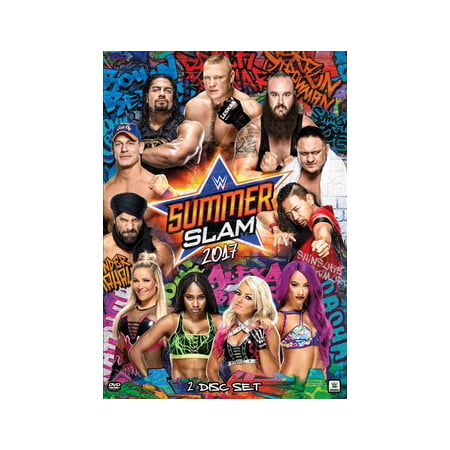 WWE: Summerslam 2017 (DVD) - Childrens Halloween Tv Shows 2017
