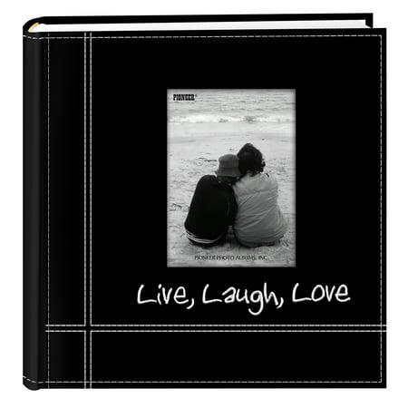 Pioneer Photo Albums Embroidered Live Laugh Love Photo Album