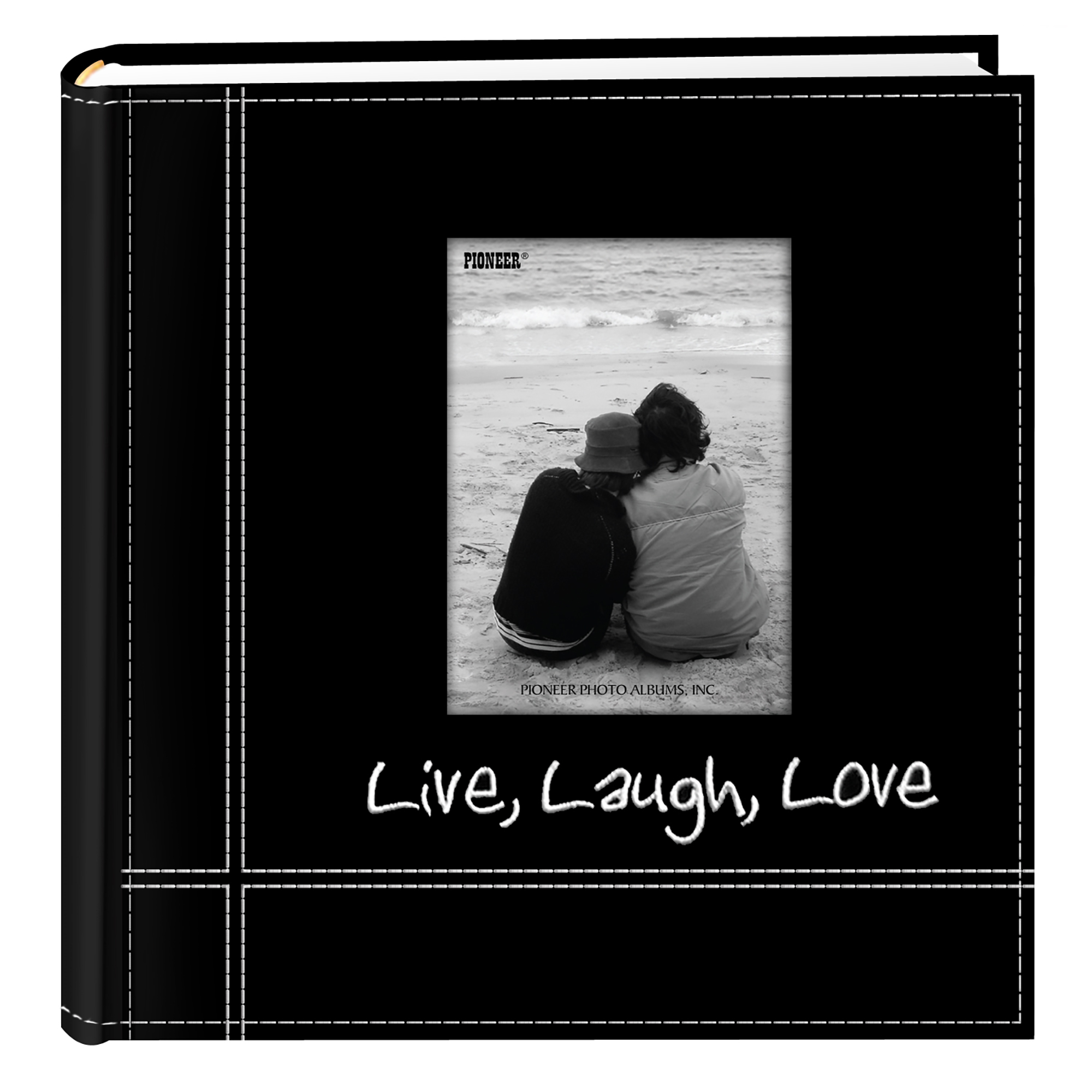 Pioneer Embroidered Live Laugh Love Photo Album