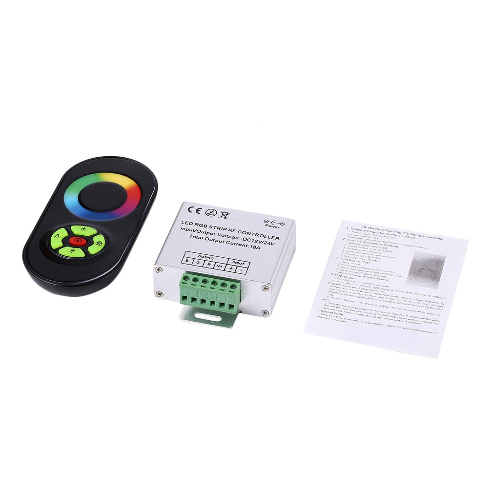 6c060f17097 Christmas Promotion RF Wireless Touch Panel Remote Controller For ...