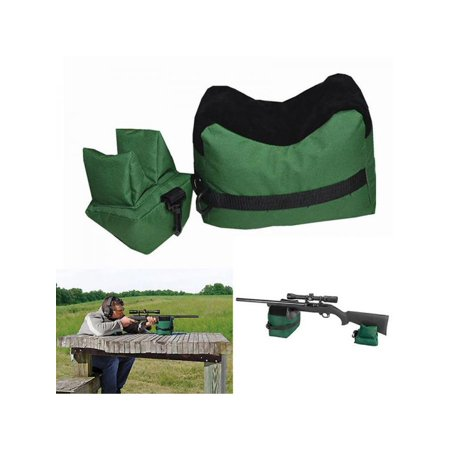 MarinaVida Front & Rear Rifle Air Gun Target Stand Rest Bags 600D Hunting Shooting (Ar Hunting Rifles)