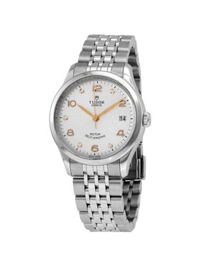 Tudor 1926 Automatic 36 mm Diamond Silver Dial Ladies Watch M91450-0003