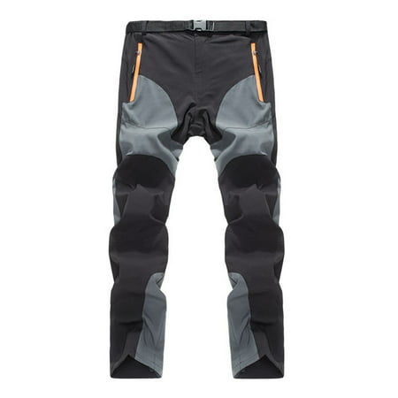 Urkutoba Men's Waterproof Outdoor Hiking Skiing Climbing (Winter Ski Pants)