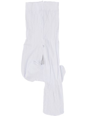 Wenchoice Girl's White Tights - L(8Y-11Y)