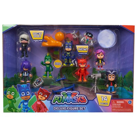 Saw Characters Mask (PJ Masks Deluxe Figure Set)