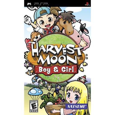 Harvest Moon: Boy & Girl PSP (Psp Games For Boys Soccer)