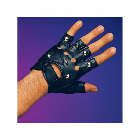 Single Studded Glove Halloween Costume Accessory