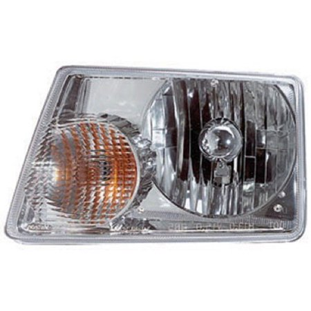 Go-Parts » 2001 - 2011 Ford Ranger Front Headlight Headlamp Assembly Front Housing / Lens / Cover - Left (Driver) Side 6L5Z 13008 BA FO2502173 Replacement For Ford Ranger 2001 Drivers Side Headlamp