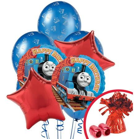 Thomas The Train Happy Birthday Balloon Bouquet