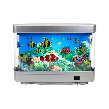 Lightahead Artificial Tropical Fish Aquarium Decorative Lamp Virtual