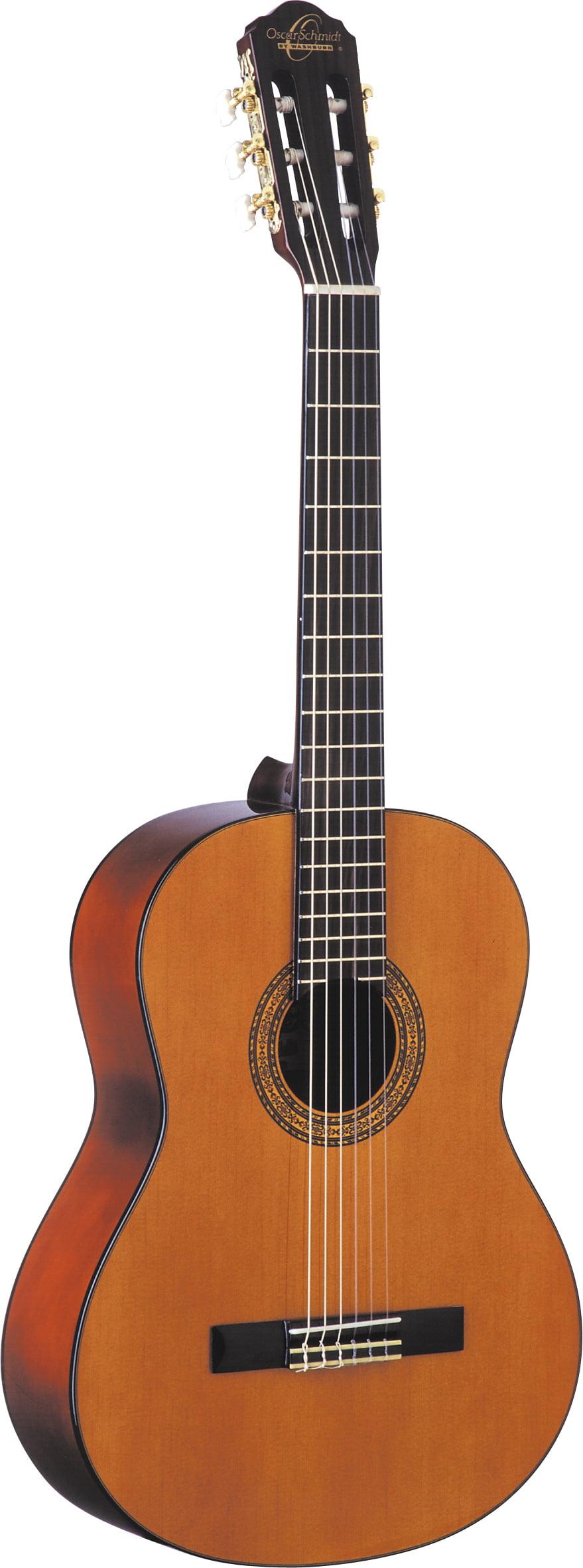 Oscar Schmidt OC1 3 4 Size Classical Guitar. Natural Satin by KMC Music
