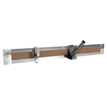 Cork Map Rail (Ghent Ghent Aluminum 1'' Map rail with Cork Insert, 8'L, 1 Per Carton)