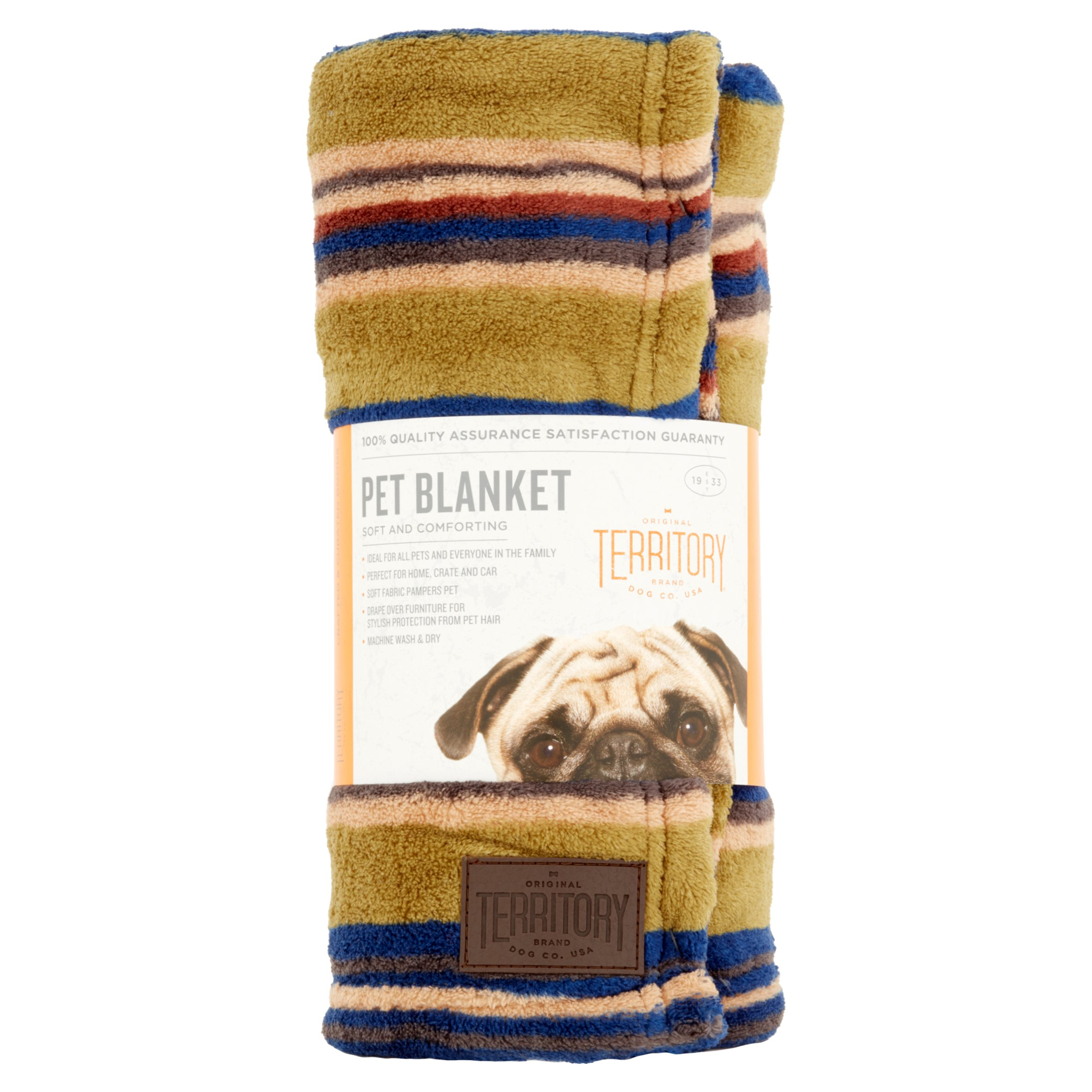 Territory Soft and Comforting Pet Blanket