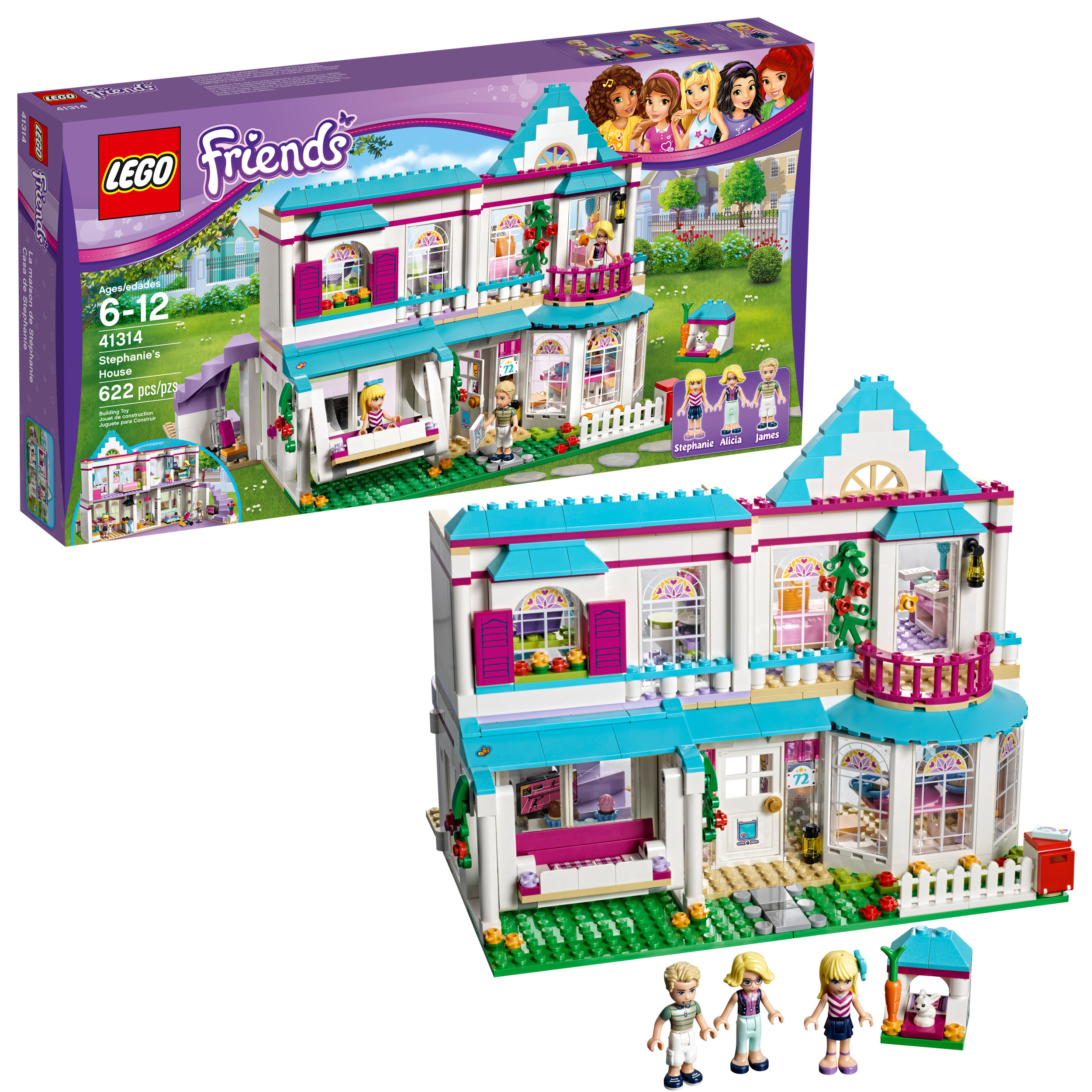 LEGO LEGO Friends Stephanie's House 41314
