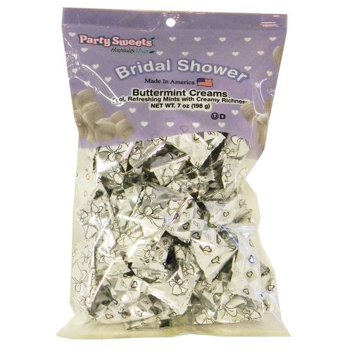 Bridal Shower Buttermints, 50 ct, 7 oz