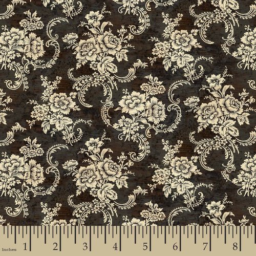 Springs Creative French Rooster Lace Floral Fabric by the Yard