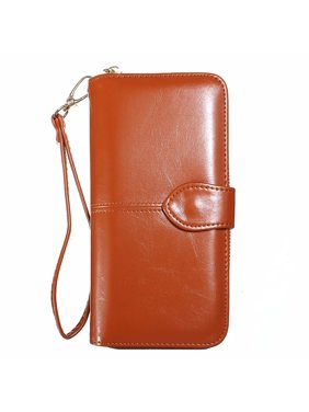 Product Image Fashion Women Long Wallet Clutch Handbag Zipper Organizer Wristlets Card Cellphone Holder Purse