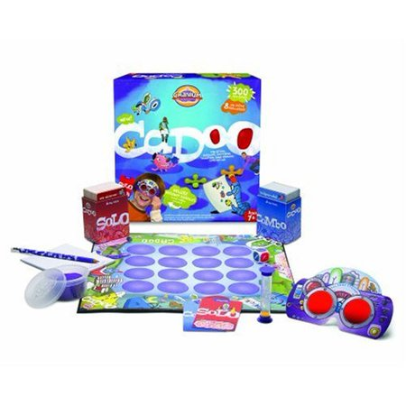 Cranium Giggle Gear - Cadoo, Cranium Cadoo is packed with fun eight activity types and 300 questions guaranteed to get kids thinking, creating, giggling, and grinning By Cranium Ship from US