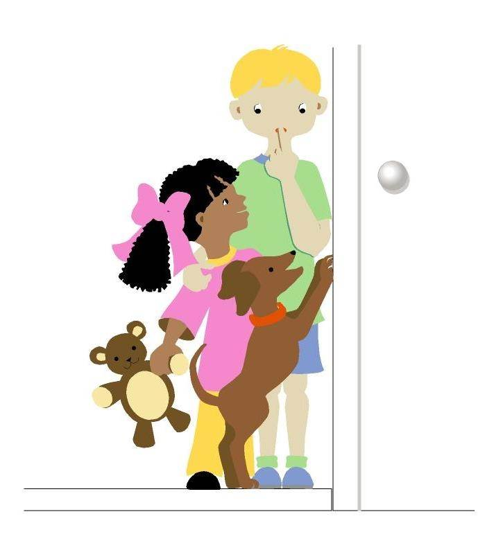 Clubhouse Kids Wall Mural