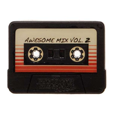Marvel Guardians Of The Galaxy Awsome Mix Vol 2 Cassette Tape Lapel Pin Apparel