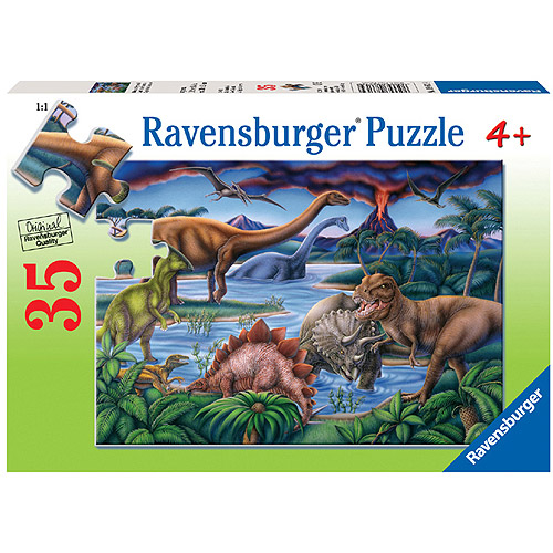 Ravensburger Dinosaur Playground Puzzle, 35 Pieces