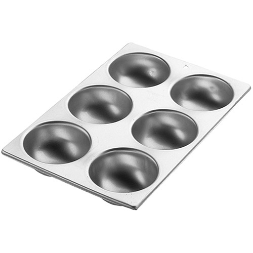 Wilton 6-Cavity Cake Pan, Mini Ball 2105-1760