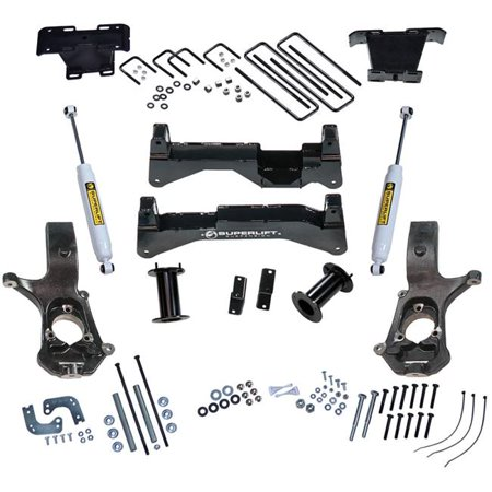 Superlift 3574 Suspension Lift Kit for 2007-2015 Chevy Silverado & GMC Sierra