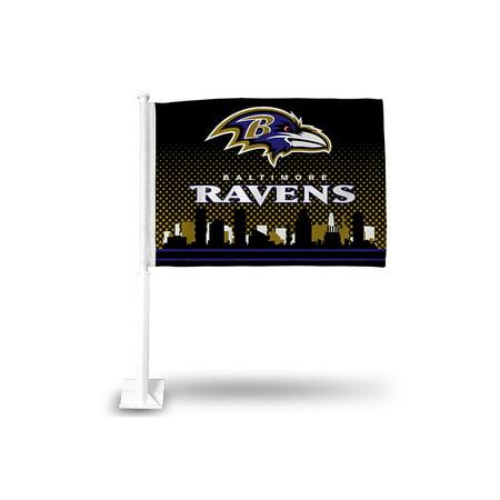 Baltimore Ravens Car Flag Walmart Com