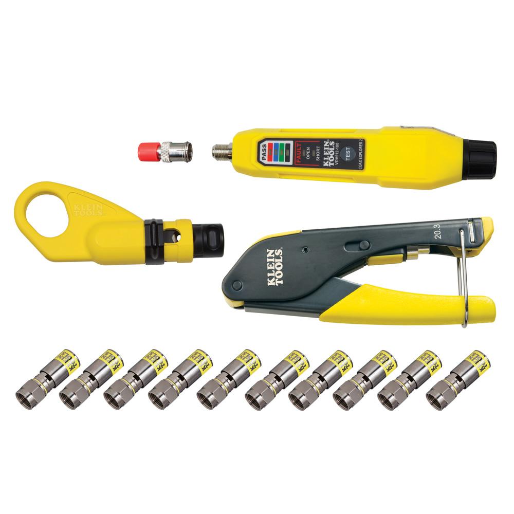 Klein Tools VDV002-818 Coax Installation & Test Kit