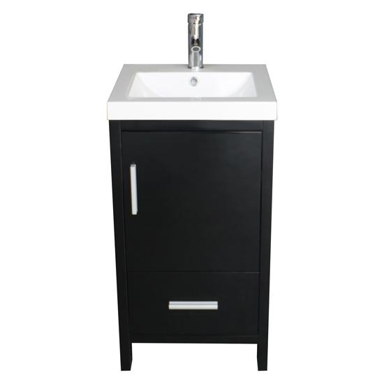 Us Modern Bathroom Vanity Cabinet Wood With Top Basin Vessel Sink
