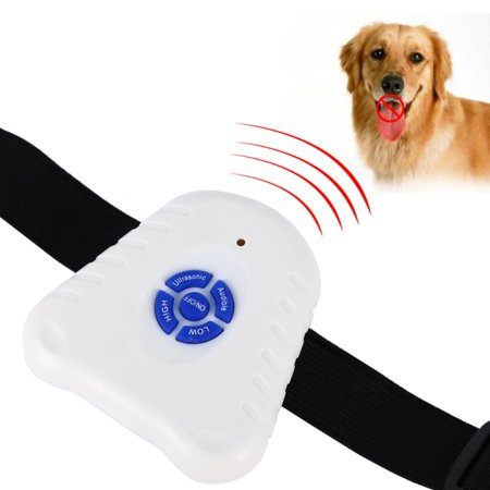 Yosoo Anti Bark Collar Bark Stop Control Outdoor Ultrasonic Dog Pet Anti Barking Training Device Collar ()