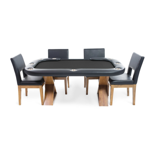 BBO Poker Helmsley 8 Piece Dining Room Set by